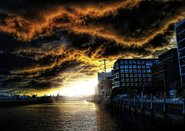Una tormenta (imagen referencial)