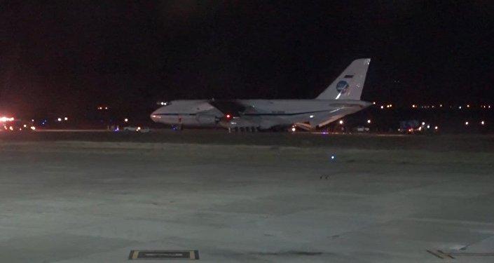 Rusia echa una mano: el An-124, listo para participar en la búsqueda del submarino