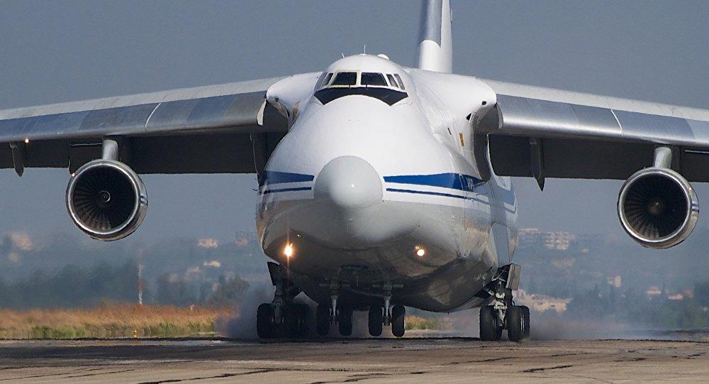 El avión de carga ruso An-124 (archivo)