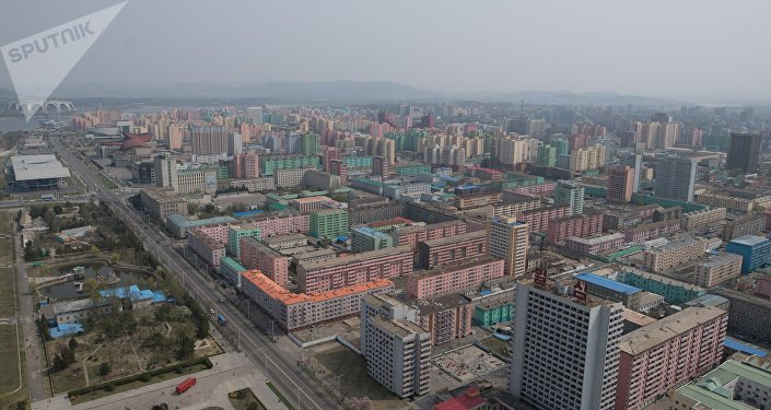 Pyongyang, capital de Corea de Norte