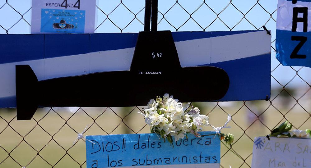 Busqueda del submarino argentino ARA San Juan