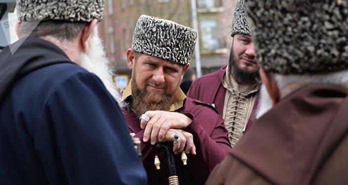 Ramzán Kadírov, líder de la república rusa de Chechenia