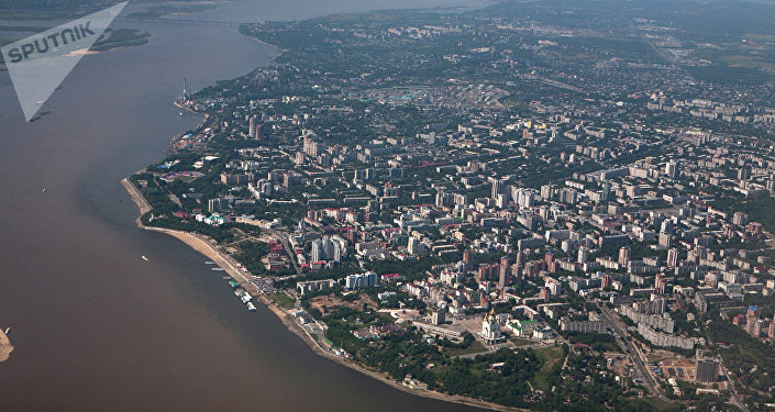 Ciudad rusa de Jabárovsk
