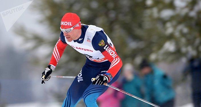 Maxim Vilegzhanin, esquiador ruso (archivo)