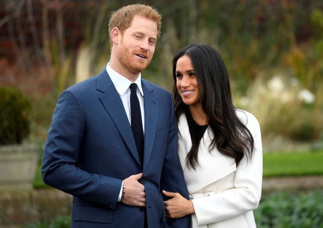 El príncipe Enrique y la actriz estadounidense, Meghan Markle