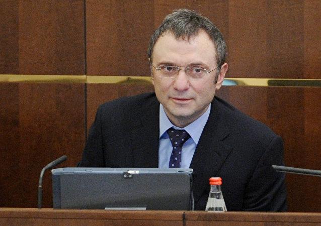 Suleimán Kerímov, el senador ruso (archivo)