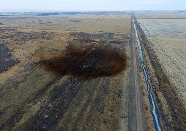 Derrame de crudo del oleoducto Keystone