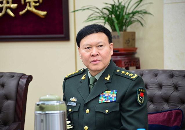 Zhang Yang, alto cargo de la Comisión Militar Central (CMC) de China