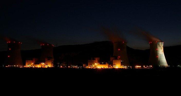 Planta nuclear francesa de Cruas