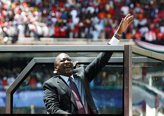 Uhuru Kenyatta, el presidente de Kenia