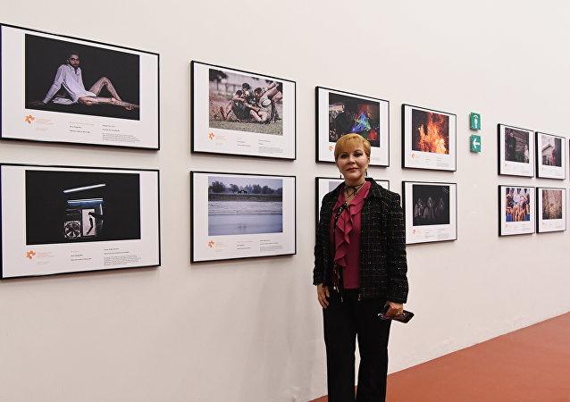 Exposición de las obras ganadoras del Tercer Concurso Internacional de Fotoperiodismo Andréi Stenin en el Centro de la Imagen de México (archivo)