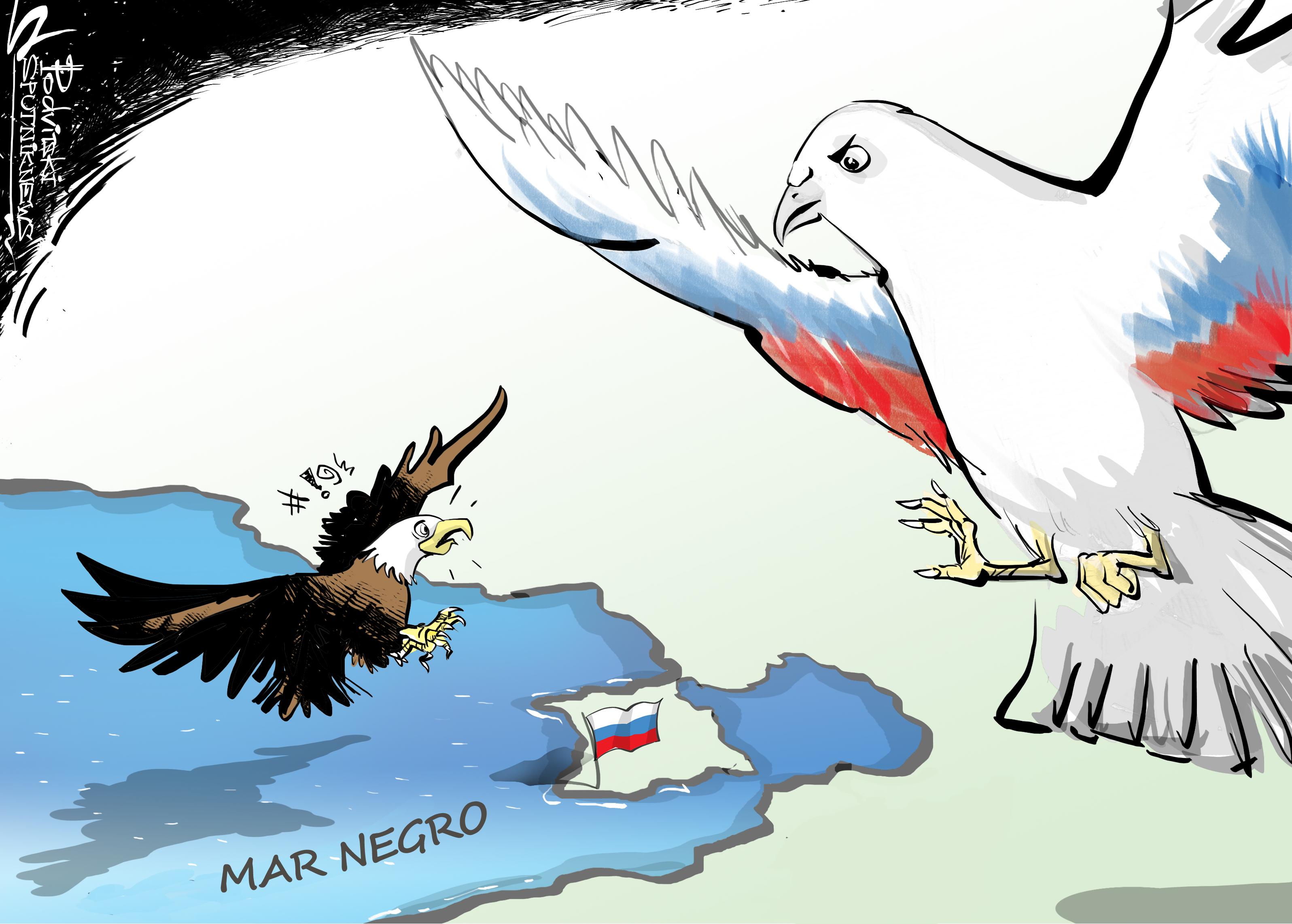 ¡Fuera de aquí! Rusia detecta un avión espía de EEUU cerca de sus fronteras