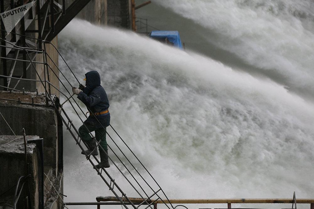 La central hidroeléctrica de Boguchani