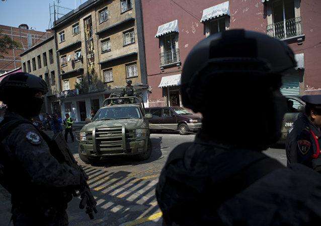 Agentes de la división antidrogas de la Policía mexicana (archivo)