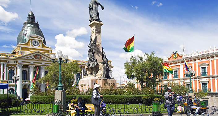 La Paz, Bolivia (archivo)
