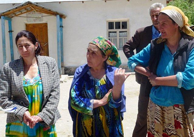 Mujeres de Tayikistán (imagen referencial)