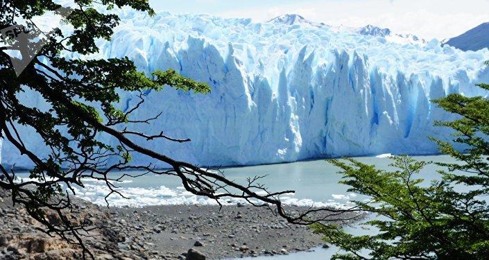 Glaciar en Chile