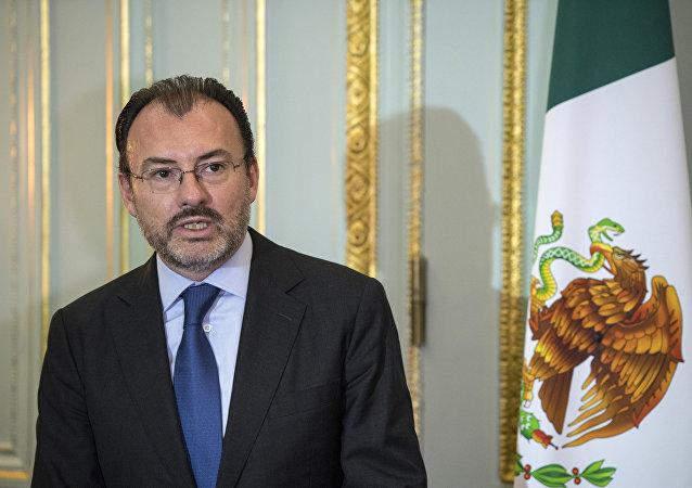 El canciller de México, Luis Videgaray (archivo)
