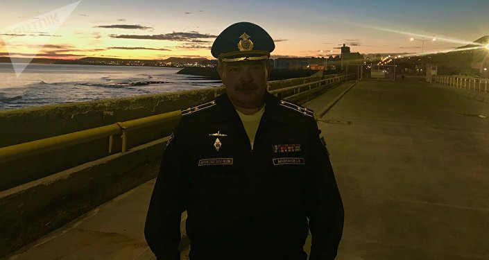 Serguéi Bashmakov, el capitán de primer rango