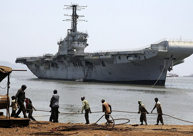Portaviones de la clase Vikrant de la Armada India