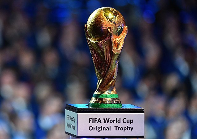 El trofeo de la FIFA (imagen ilustrativa)