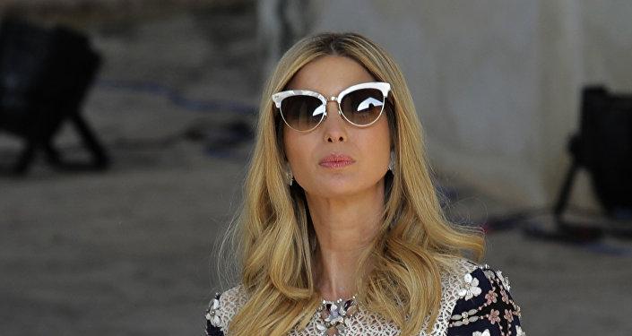 Ivanka Trump, hija y asesora del presidente de EEUU