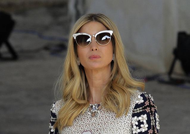 Ivanka Trump, hija y asesora del presidente de EEUU, en la India