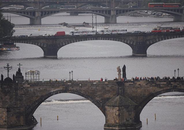 Los puentes de Praga, capital de la República Checa (imagen referencial)