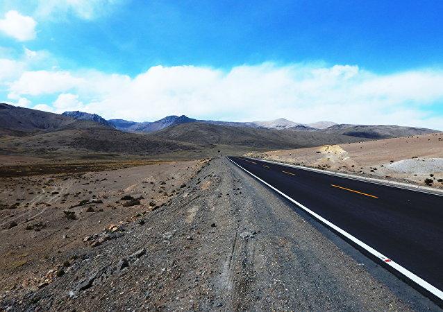 Una carretera de Perú (imagen referencial)