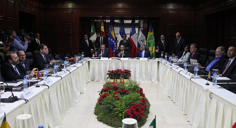 México participa en reunión de diálogo entre Gobierno de Venezuela y oposición