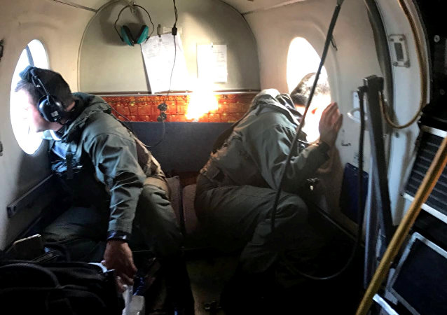La búsqueda del submarino argentino ARA San Juan