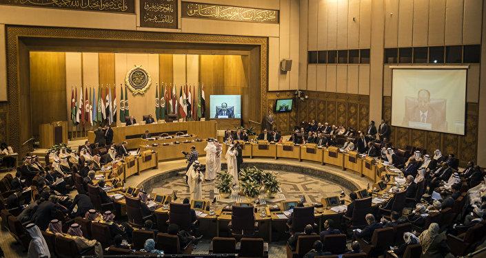 Una reunión de la Liga Árabe (archivo)