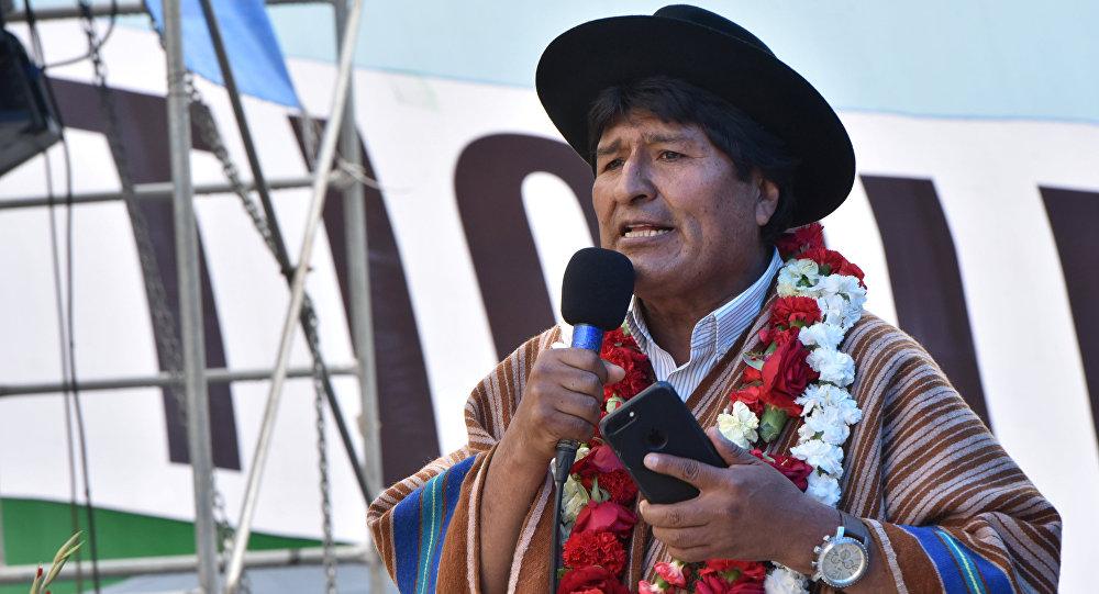 Morales acepta candidatura para 2019 ante