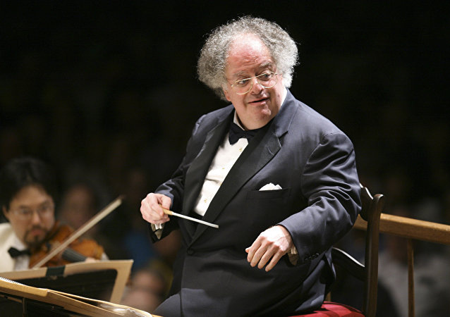 James Levine, director de orquesta