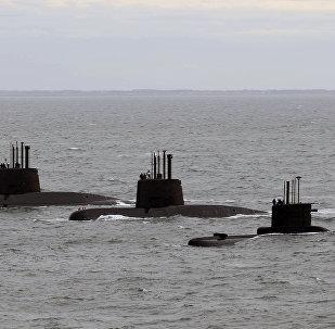 Submarinos argentinos ARA San Juan, ARA Salta y ARA Santa Cruz (archivo)