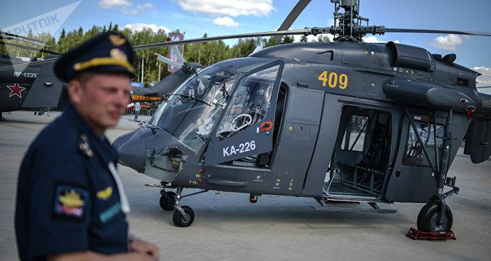 Helicóptero Ka-226 (archivo)