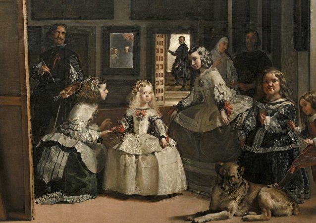 Las Meninas, la obra maestra del pintor del Siglo de Oro español Diego Velázquez