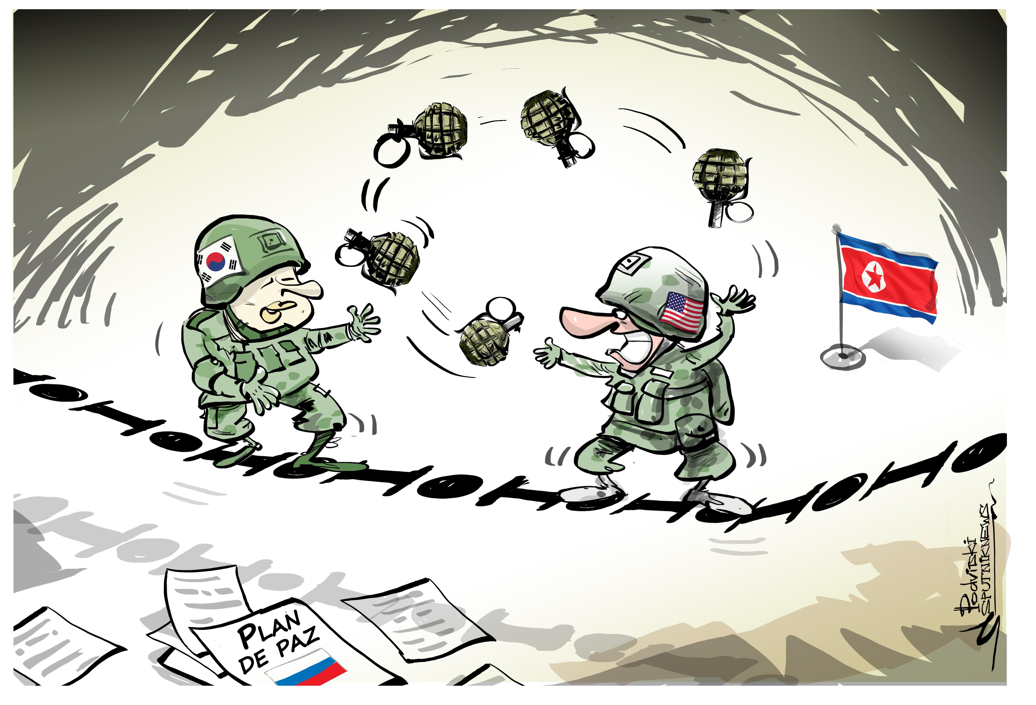 Equilibrio mortal: EEUU y Corea del Sur juegan con fuego con unas maniobras conjuntas