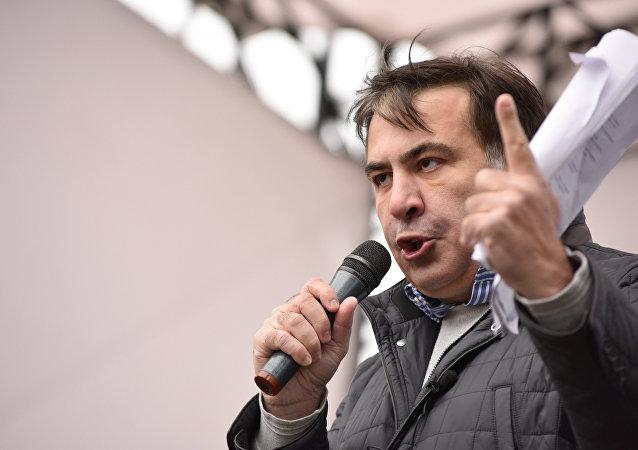 Mijaíl Saakashvili, expresidente de Georgia y exgobernador de la región ucraniana de Odesa (archivo)