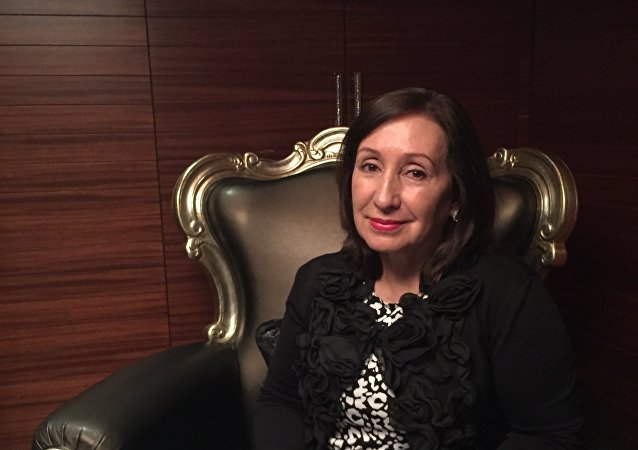 Doris Soliz, presidenta de la Comisión de Relaciones Internacionales de la Asamblea Nacional (parlamento) de Ecuador
