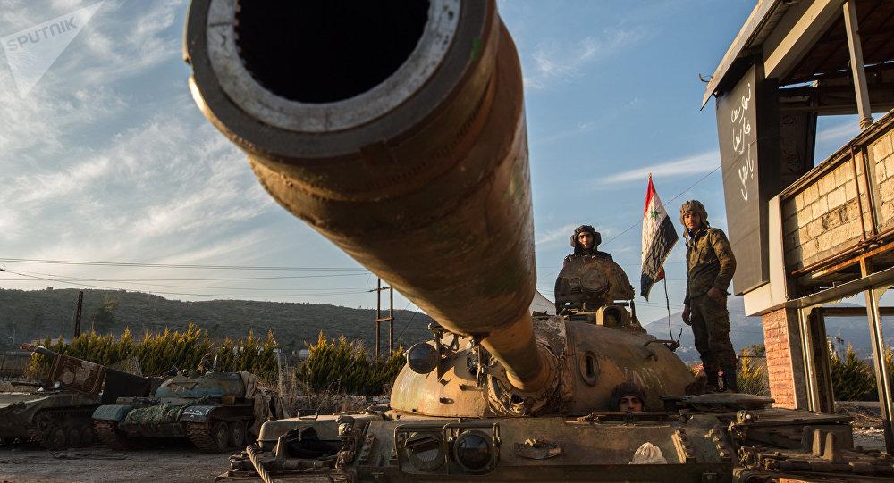 Soldados sirios (archivo)