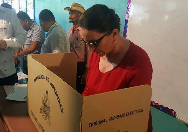 Xiomara Castro, la candidata a vicepresidenta primera por la Alianza de Oposición