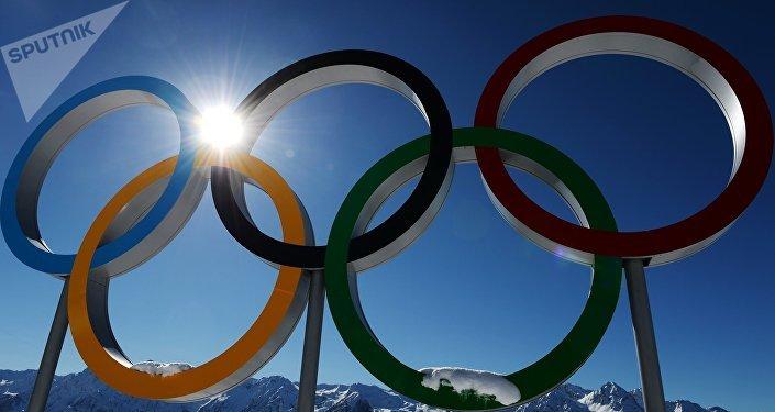 Logo de los Juegos Olímpicos (archivo)