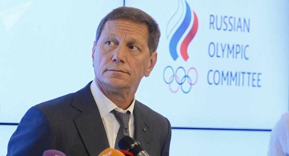 Alexandr Zhúkov, el presidente del Comité Olímpico Nacional de Rusia