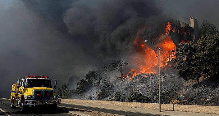 Incendios en California, EEUU