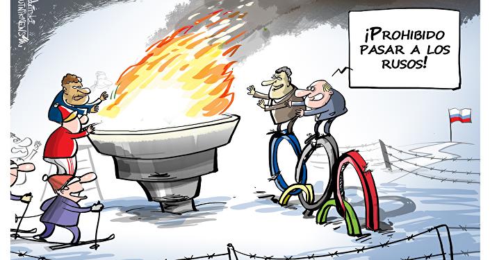 ¡El deporte ruso no pasará!