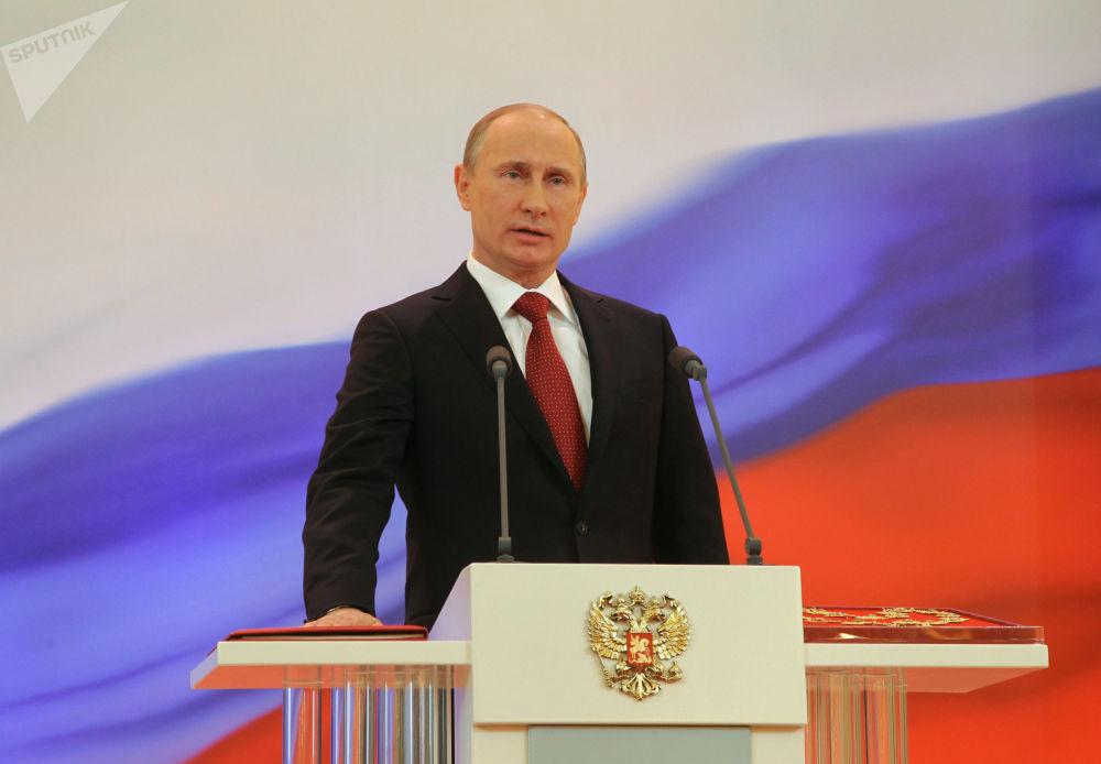 Los tres mandatos presidenciales de Vladímir Putin, en imágenes