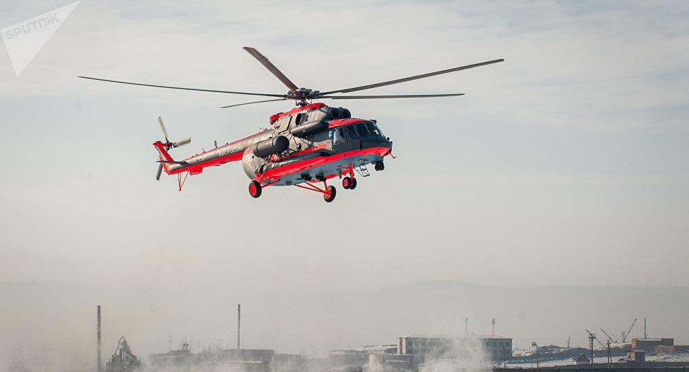 Mi-8AMTSh-VA, uno de los helicópteros producidos por la planta