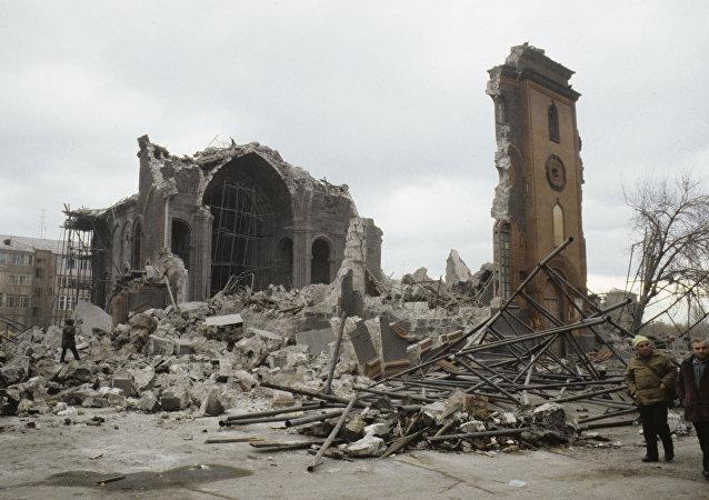 Consecuencias del terremoto de Armenia del 7 de diciembre de 1988