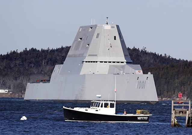 USS Michael Monsoor, el segundo buque de guerra estadounidense de clase Zumwalt